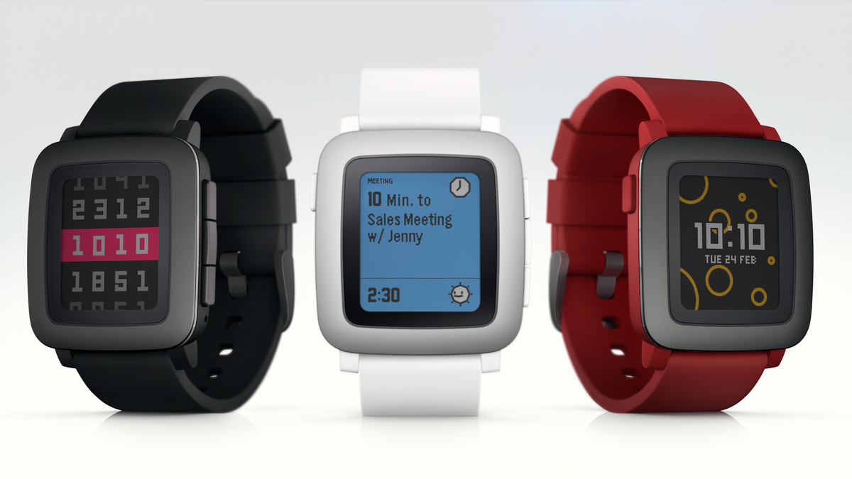 The Pebble Time Smartwatch